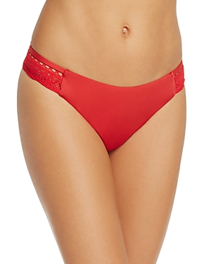 Laundry by Shelli Segal Crochet Hipster Bikini Bottom
