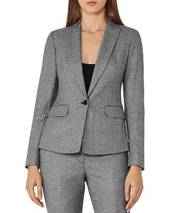 REISS - Hampstead Tailored Textured Blazer