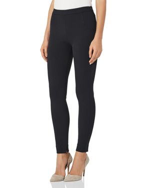 Reiss Tyne Skinny Cropped Slit-Hem Pants