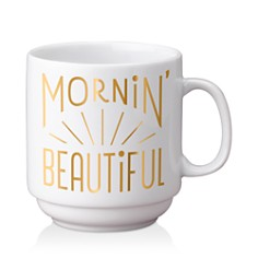 Easy Tiger Morning Beautiful Stackable Gold Mug - Bloomingdale's_0