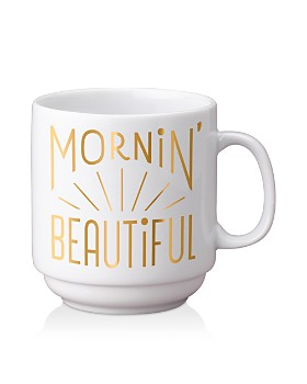 Easy Tiger - Morning Beautiful Stackable Gold Mug