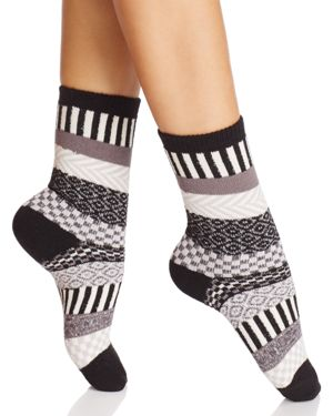 Hue Multi-Stripe Boot Socks