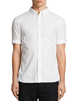 ALLSAINTS - Redondo Half Sleeve Slim Fit Button-Down Shirt