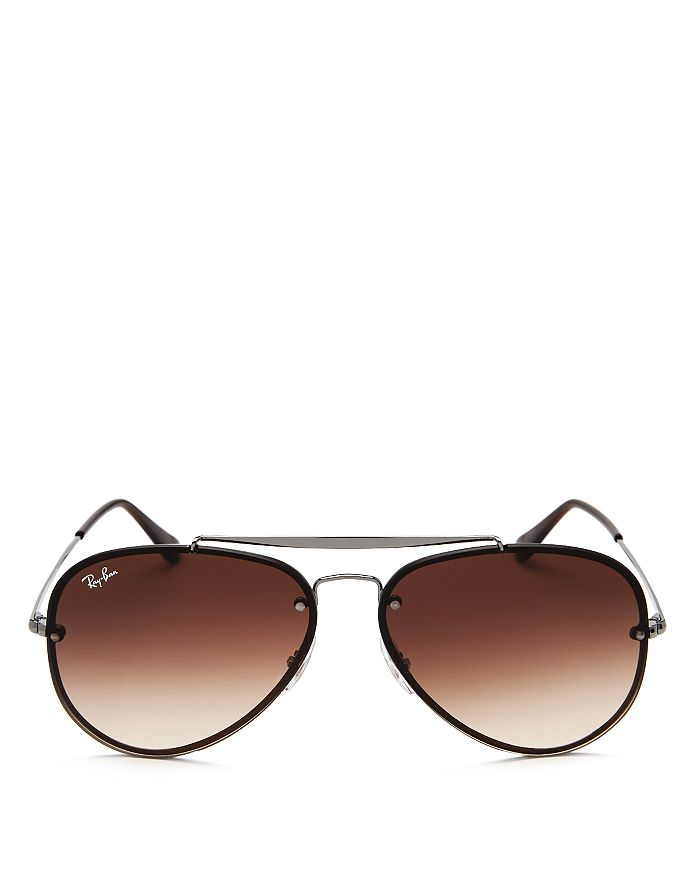a0d470061e8 Ray-Ban - Unisex Blaze Brow Bar Aviator Sunglasses