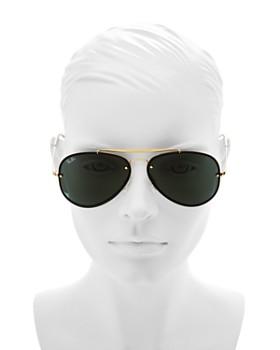 Ray-Ban - Unisex Blaze Aviator Sunglasses, 61mm