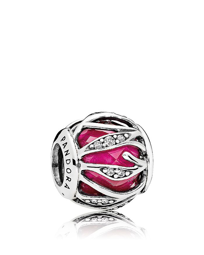 PANDORA - Charm - Sterling Silver, Cubic Zirconia & Enamel Nature's Radiance
