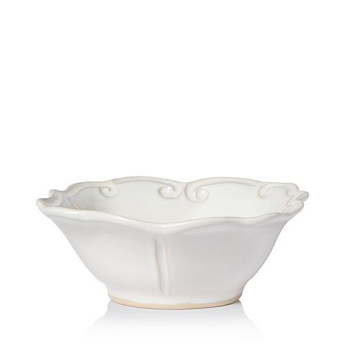 VIETRI - Incanto Stone White Baroque Cereal Bowl