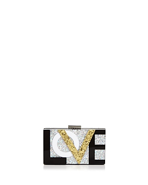 Sondra Roberts Love Box Clutch