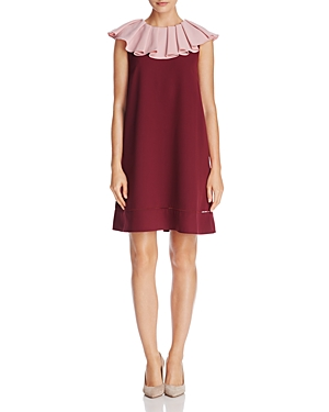 Ted Baker Clarees Ruffle-Neck Shift Dress - 100% Exclusive
