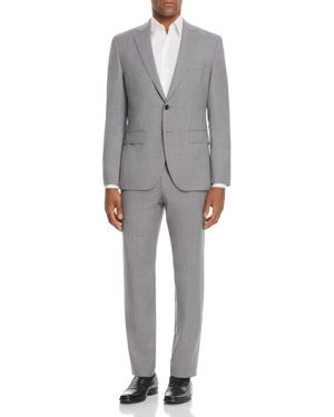 Boss Johnstons/Lenon Regular Fit Micro Check Suit 2755694