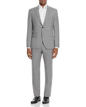Boss Johnstons/Lenon Regular Fit Micro Check Suit