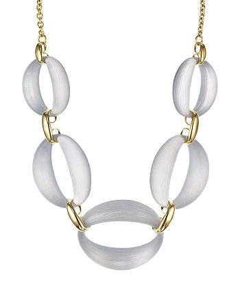 Alexis Bittar - Lulu Link Necklace, 16""