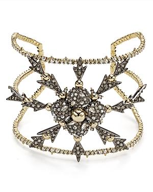 Alexis Bittar Pave Snowflake Cuff Bracelet