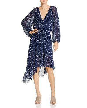 Joie Alithea Printed Silk Dress
