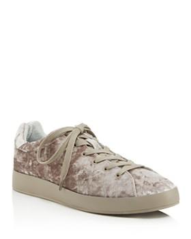 rag & bone - Women's Crushed Velvet Soporte Sneakers