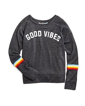 Vintage Havana Girls' Good Vibes Sweatshirt - Big Kid