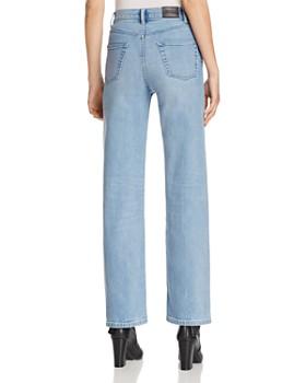 Burberry - Straight-Leg Jeans in Light Stone Blue