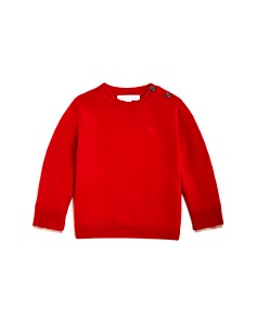 Burberry Boys' Check Cuff Cashmere Sweater - Baby - Bloomingdale's_0