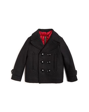 Burberry - Girls' Pat Peacoat & Down Puffer Vest Set - Little Kid, Big Kid