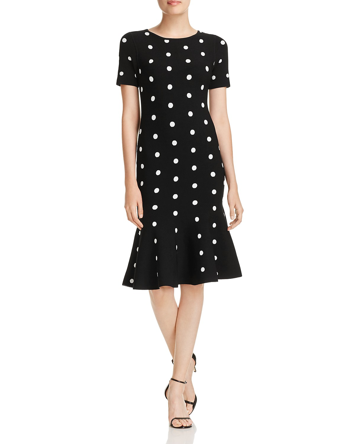 MILLY Polka-Dot Knit Mermaid Dress | Bloomingdale\'s