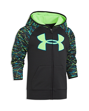 Under Armour Boys Voltage Big Logo Hoodie  Little Kid