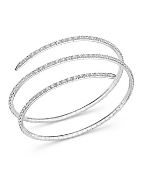 Bloomingdale S Diamond Coil Bracelet 3 0 Ct