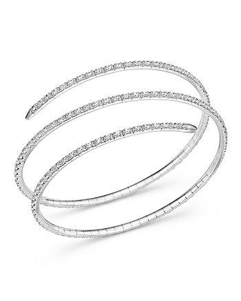 Bloomingdale's - Diamond Coil Bracelet, 3.0 ct. t.w. - 100% Exclusive
