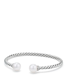 David Yurman - Solari Bracelet with Diamonds & Cultured Freshwater Pearl
