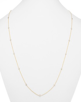 Bloomingdale's - Diamond Long Station Necklace in 14K Yellow Gold, 1.50 ct. t.w. - 100% Exclusive