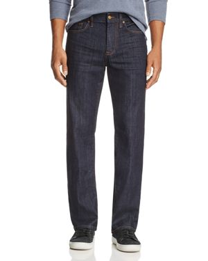 Joe's Jeans Cabe Straight Fit Jeans in Dark Blue