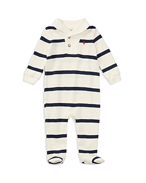 Ralph Lauren Childrenswear Boys' Shawl-Collar Coverall - Baby