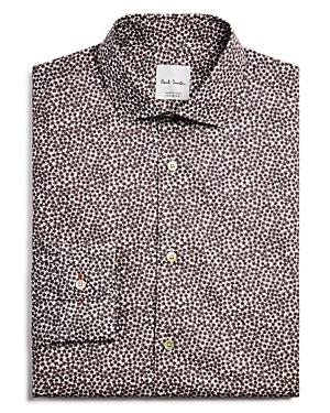 Paul Smith Floral Slim Fit Dress Shirt