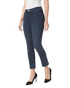 NYDJ - Sheri Embroidered Slim Ankle Jeans in Varick