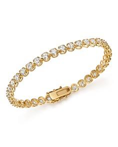 Bloomingdale's - Diamond Tennis Bracelet in 14K Yellow Gold, 7.0 ct. t.w. - 100% Exclusive