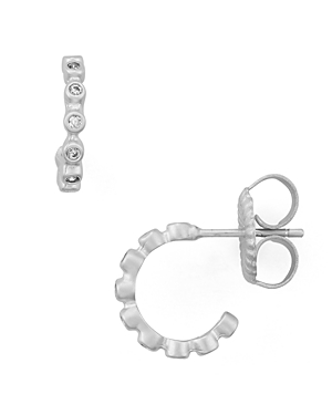 Freida Rothman Huggie Hoop Earrings