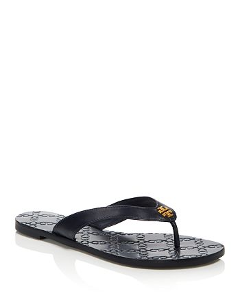 cbf4b54d8689 Tory Burch - Women s Leather Monroe Thong Sandals