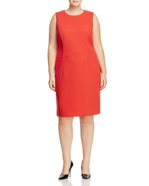 Lafayette 148 New York Plus Selitta Shift Dress