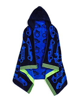 Caro Home - Vintage Cars Kids Hooded Towel