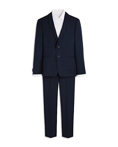 Michael Kors Boys' Plaid Suit Jacket & Pants Set - Big Kid - Bloomingdale's_0