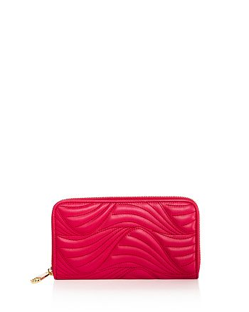 Salvatore Ferragamo - Zip Wave Quilted Leather Wallet