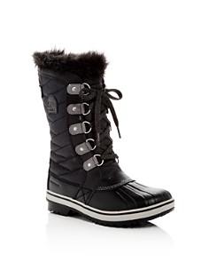 Sorel - Girls' Tofino II Waterproof Cold Weather Boots - Little Kid, Big Kid