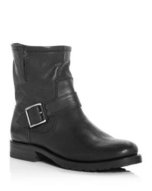 Frye Women's Natalie Leather Short Engineer Booties 2761286