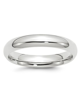 Bloomingdale's - Men's 4mm Comfort Fit Band Ring in 14K White Gold - 100% Exclusive