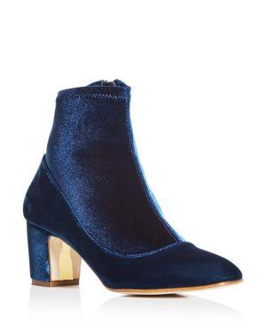 Rupert Sanderson Women's Fernie Velvet Sock Booties