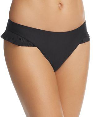 Ella Moss Sheer Dot Retro Bikini Bottom