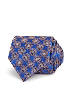 Canali Medallion Classic Tie - Bloomingdale's_0