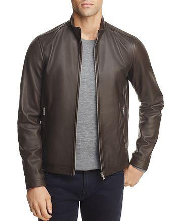 Theory - Kelleher Morvek L Leather Jacket