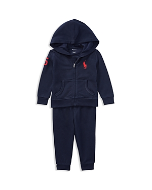 Ralph Lauren Childrenswear Boys Fleece Hoodie  Joggers Set  Baby