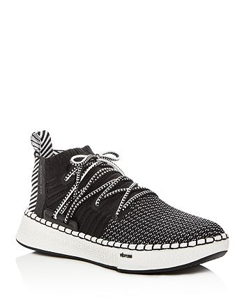 Brandblack - Men's Delta Knit Lace Up Sneakers