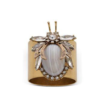 Joanna Buchanan - Vintage Bug Napkin Rings, Set of 2